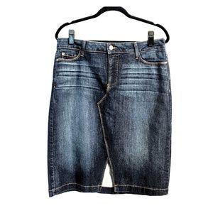 NYDJ Jean Slimming Mini Skirt